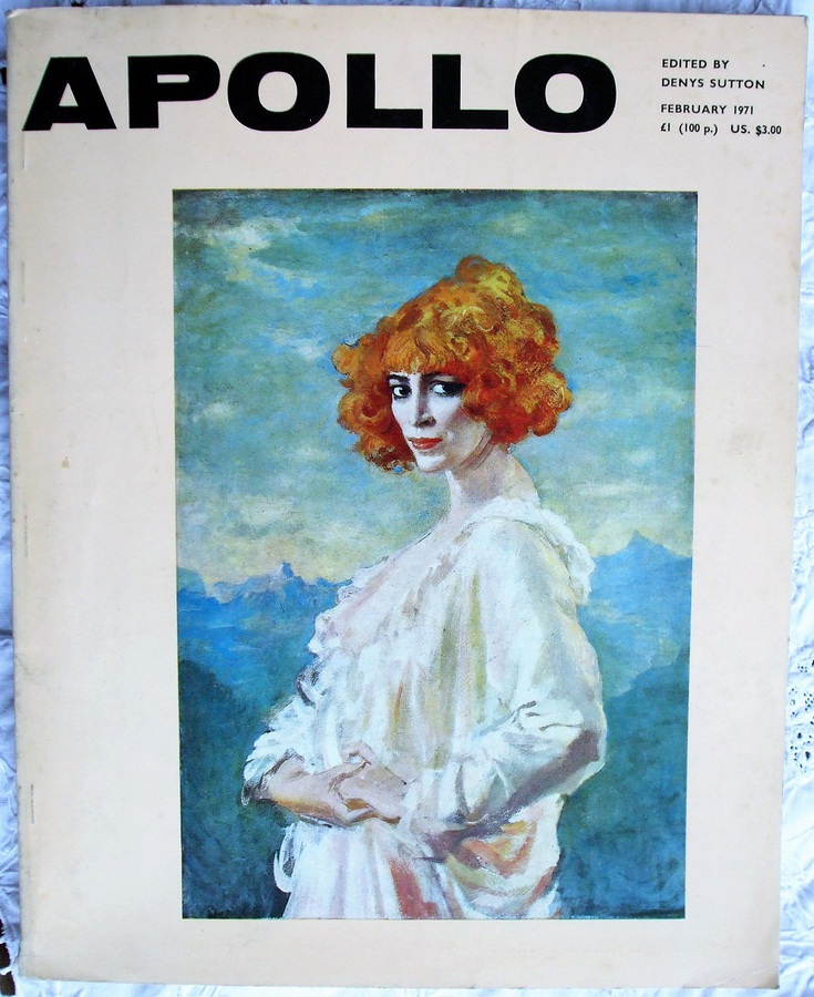 Apollo ~ Vol. XCIII ~ No. 108 ~ February 1971