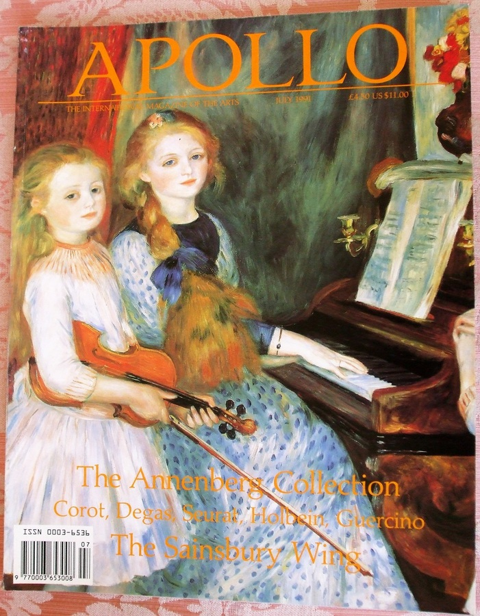 Apollo ~ Vol. CXXXIV ~ No. 353 ~ July 1991