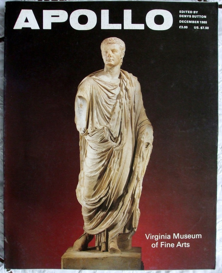 Apollo ~ Vol. CXXII ~ No. 286 ~ December 1985