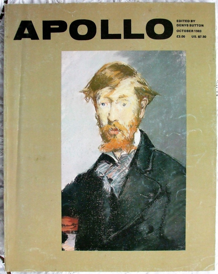 Apollo ~ Vol. CXVIII ~ No. 260 ~ October 1983