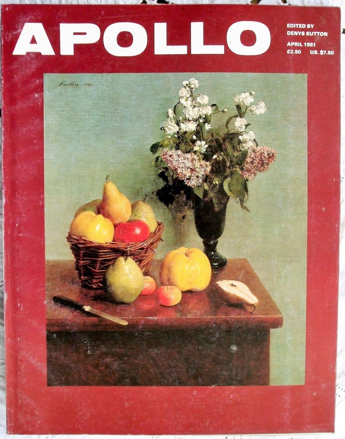 Apollo ~ Vol. CXIII ~ No. 230 ~ April 1981