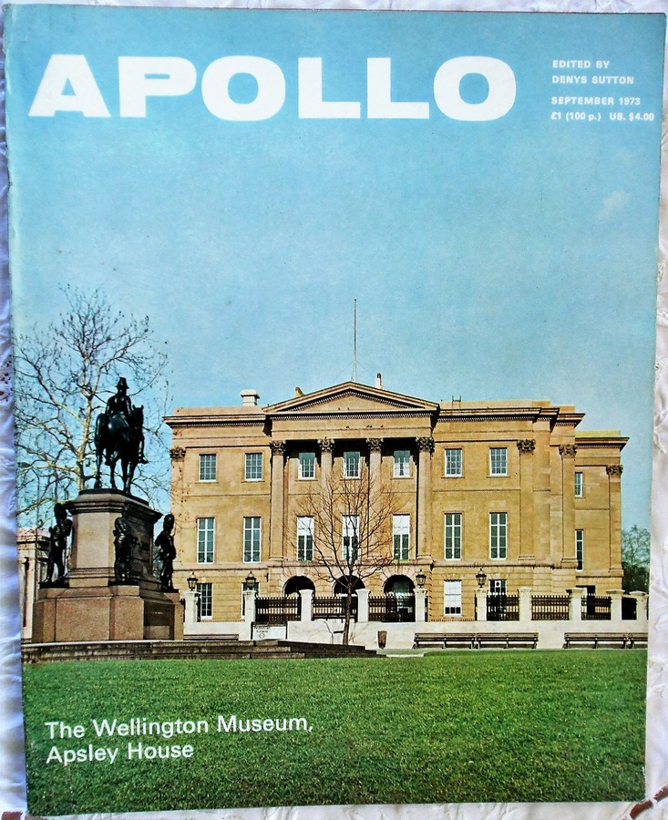 Antique Apollo ~ Vol. XCVIII ~ No. 139 ~ September 1973