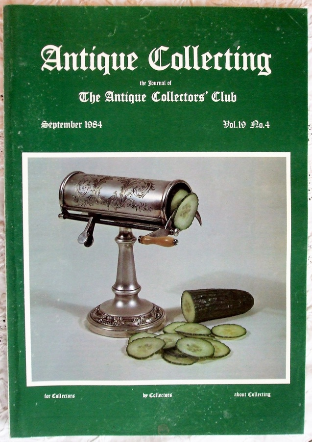 Antique Collecting ~ Vol. 19 ~ No. 4 ~ September 1984