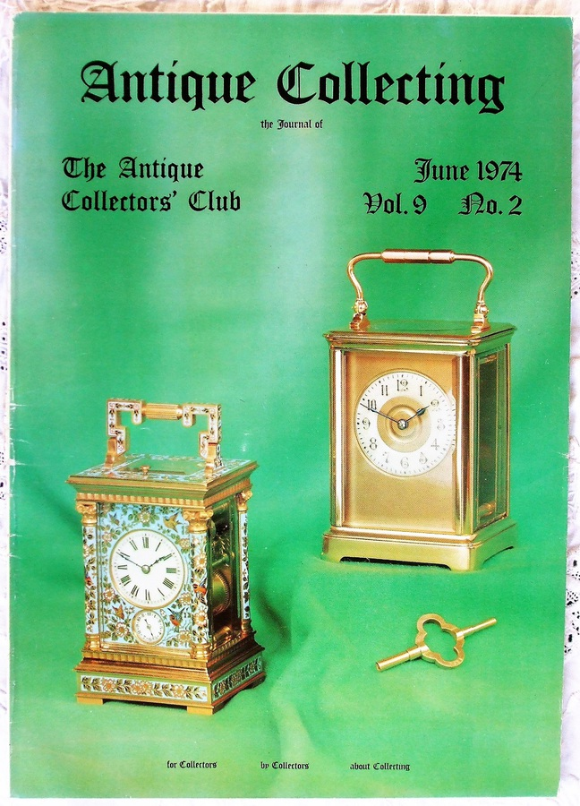 Antique Collecting ~ Vol. 9 ~ No. 2 ~ June 1974