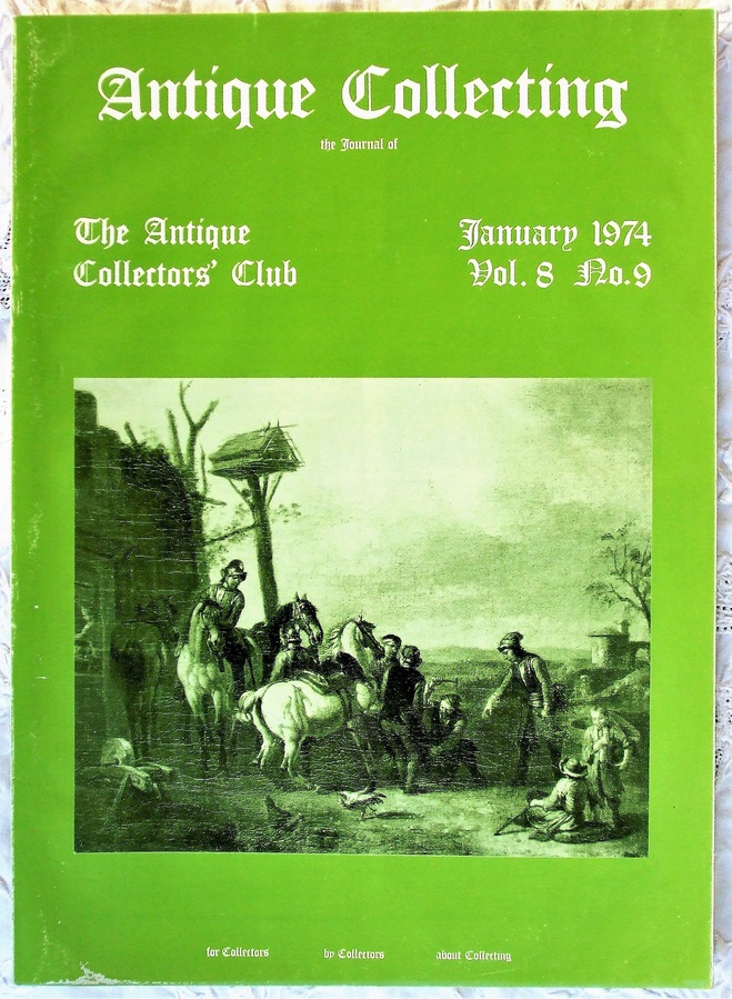 Antique Collecting ~ Vol. 8 ~ No. 9 ~ January 1974