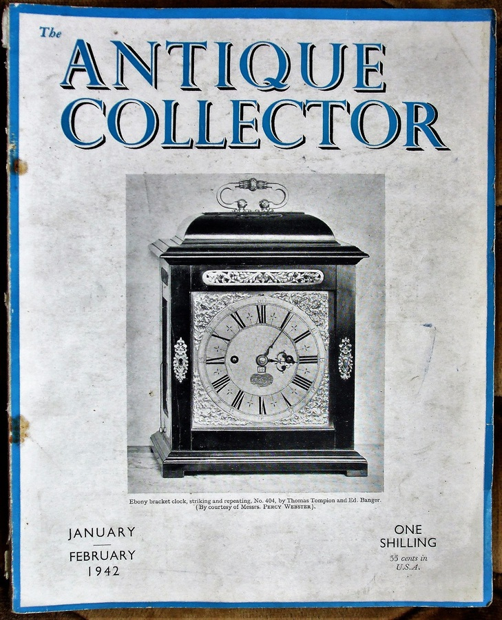 The Antique Collector ~ Vol. 13 ~ No. 1 ~ January - February 1942
