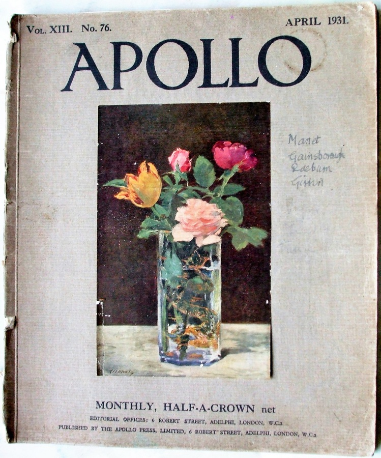 Apollo ~ Vol. XIII ~ No. 76 ~ April 1931