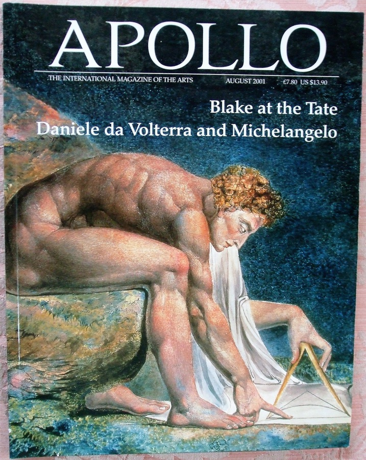 Apollo ~ Vol. CLIV ~ No. 474 ~ August 2001