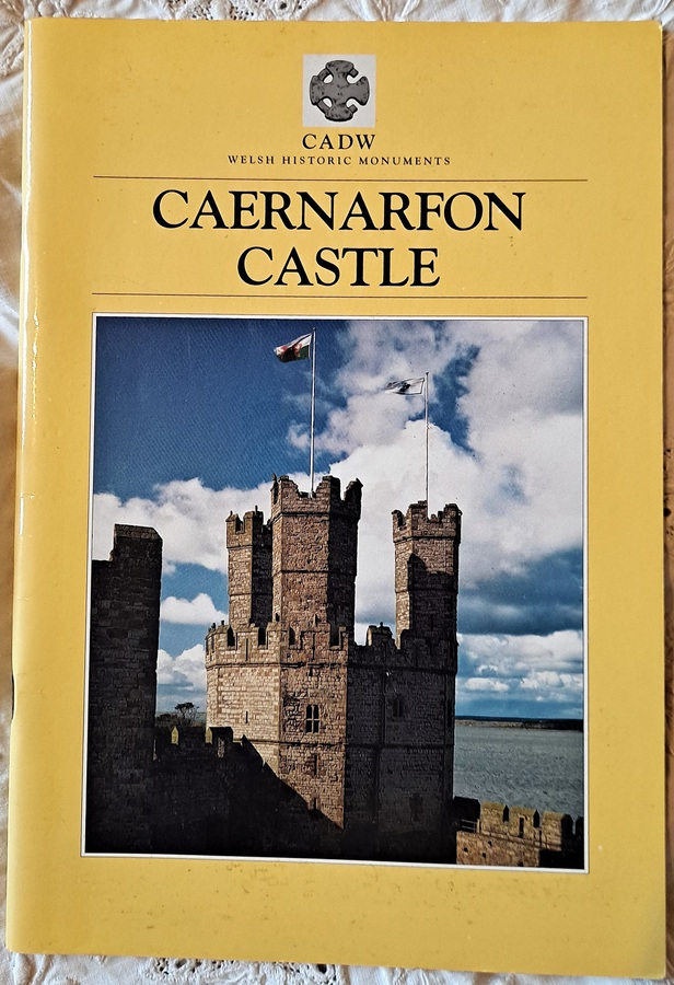 Antique Caernarfon Castle and Town Walls ~ Arnold Taylor ~ CADW