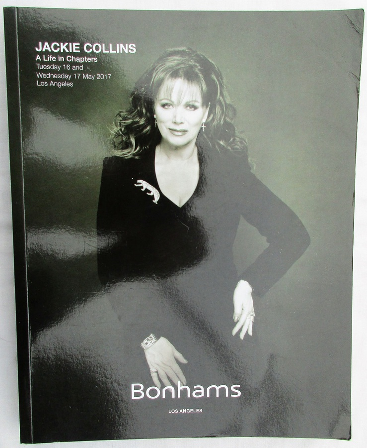 Antique Bonhams ~ Jackie Collins ~ A Life in Chapters ~ Los Angeles ~ 16.-17. 05. 2017