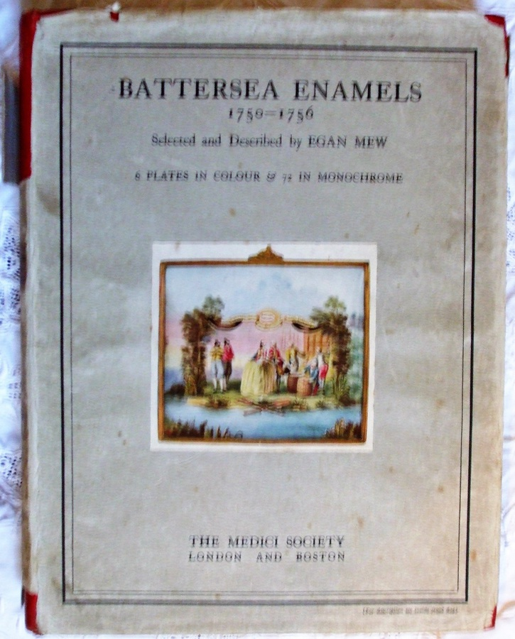 Antique Battersea Enamels 1750 - 1756 ~ Egan Mew