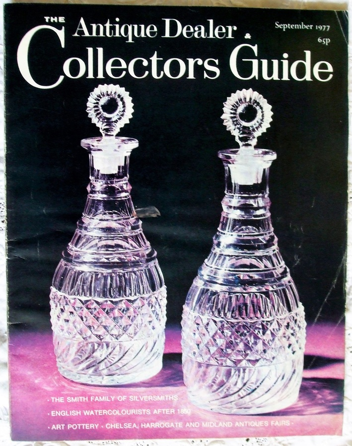 Antique The Antique Dealer and Collectors Guide ~ September 1977