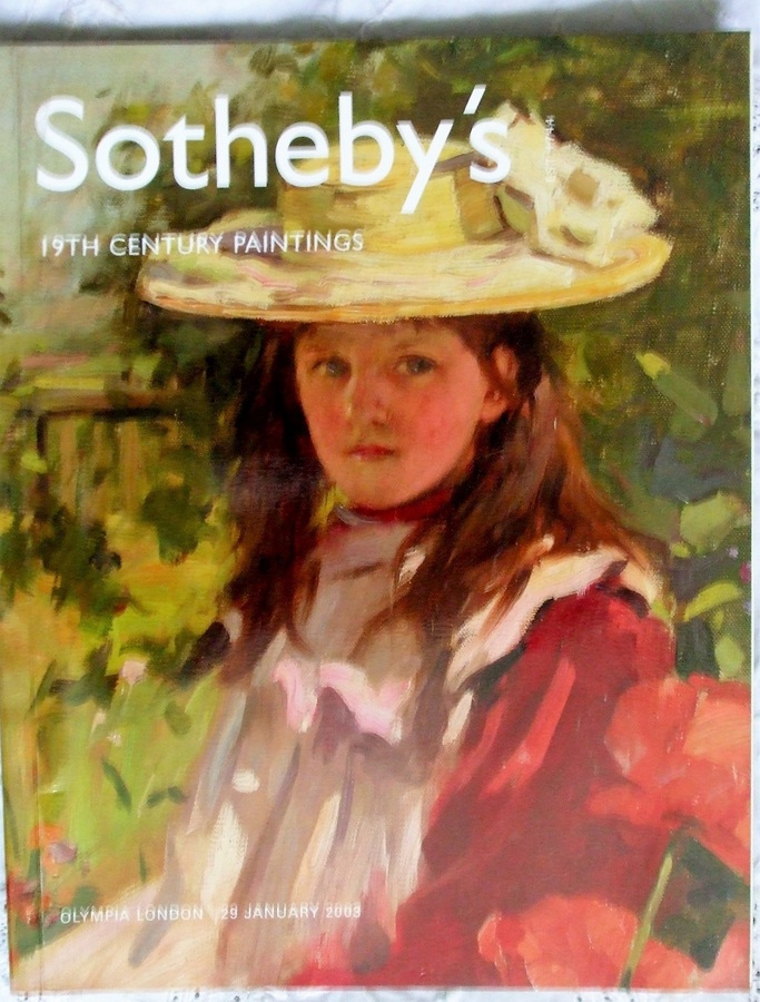 Antique Sotheby's Olympia ~ 19th Century Paintings ~ London ~ 29. 01. 2003
