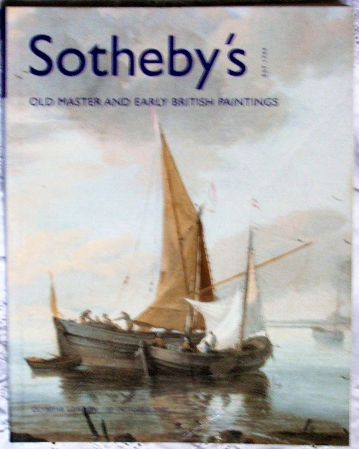 Antique Sotheby's Olympia ~ Old Master and Early British Paintings ~ London ~ 30. 10. 2001