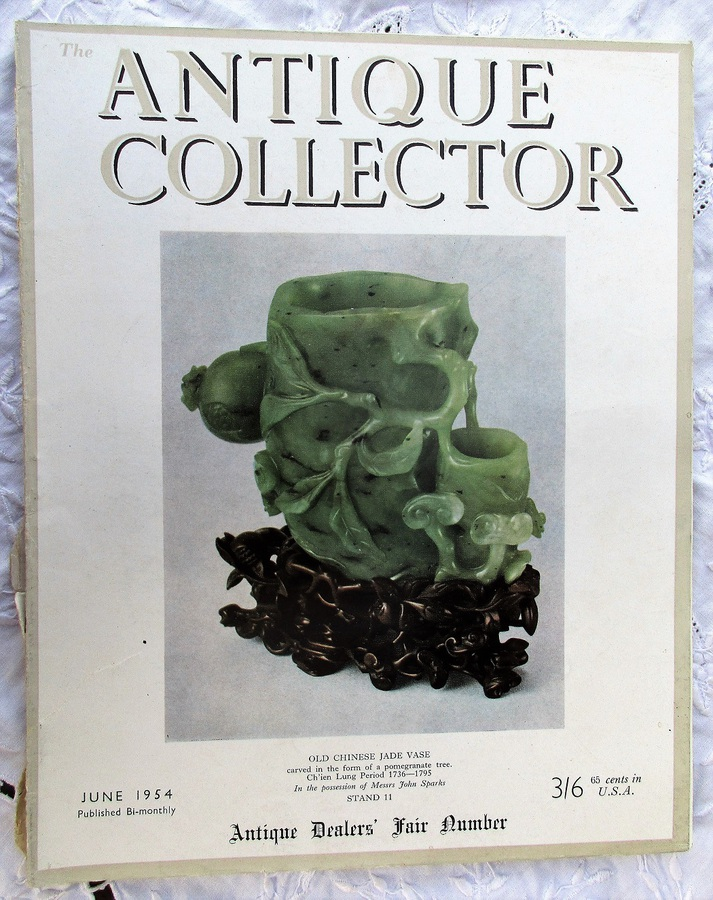 Antique The Antique Collector ~ Vol. 25 ~ No. 3 ~ June 1954