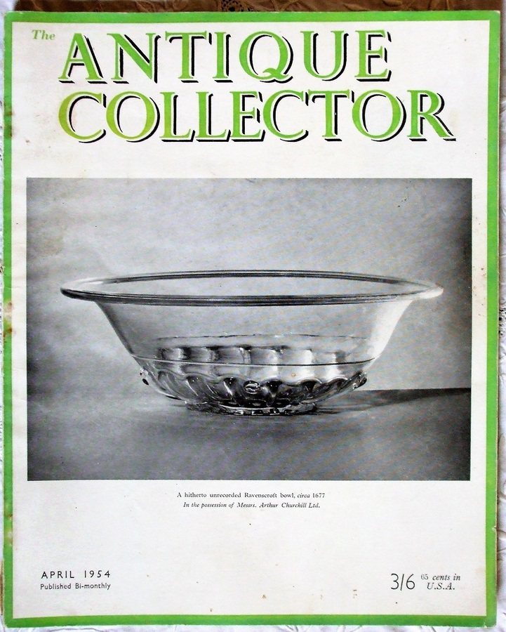 Antique The Antique Collector ~ Vol. 25 ~ No. 2 ~ April 1954
