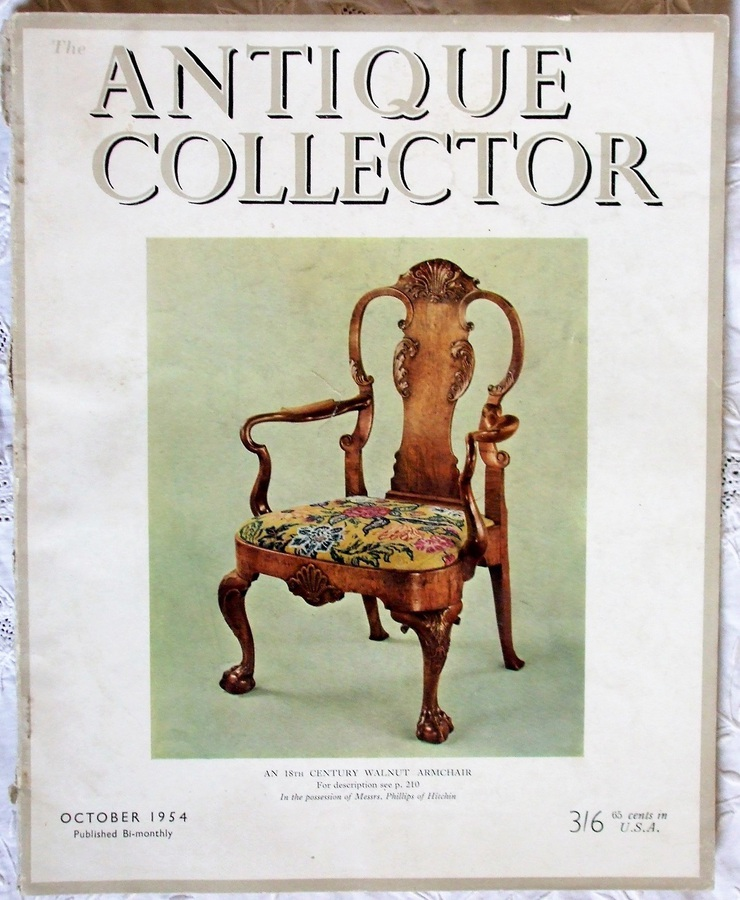 Antique The Antique Collector ~ Vol. 25 ~ No. 5 ~ October 1954