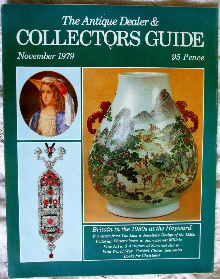 Antique The Antique Dealer and Collectors Guide ~ November 1979
