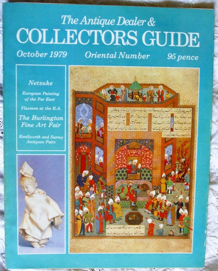 Antique The Antique Dealer and Collectors Guide ~ October 1979