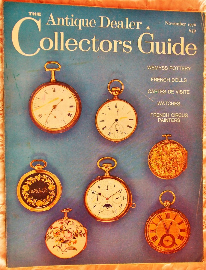 Antique The Antique Dealer and Collectors Guide ~ November 1976