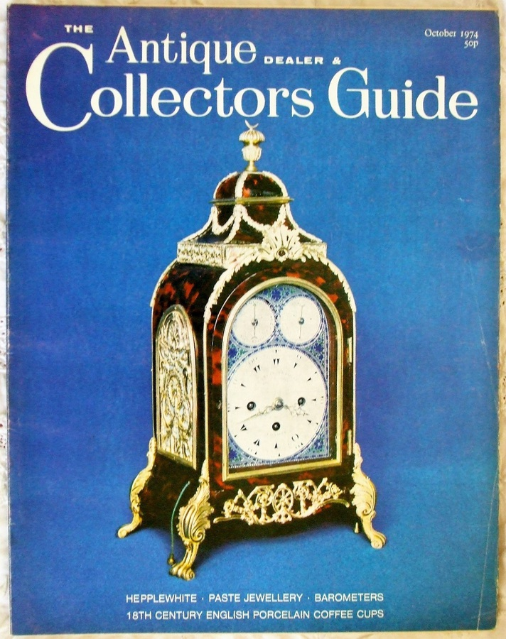 Antique The Antique Dealer and Collectors Guide ~ October 1974