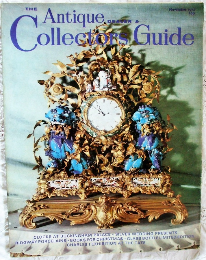 Antique The Antique Dealer and Collectors Guide ~ November 1972