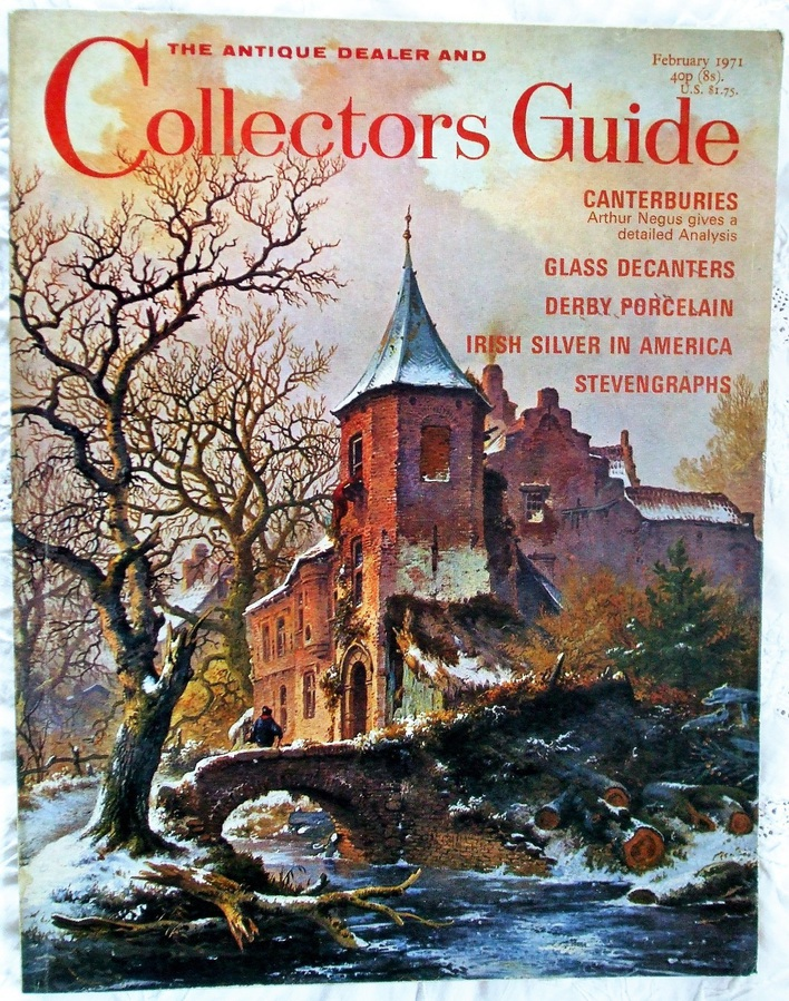 Antique The Antique Dealer and Collectors Guide ~ February 1971