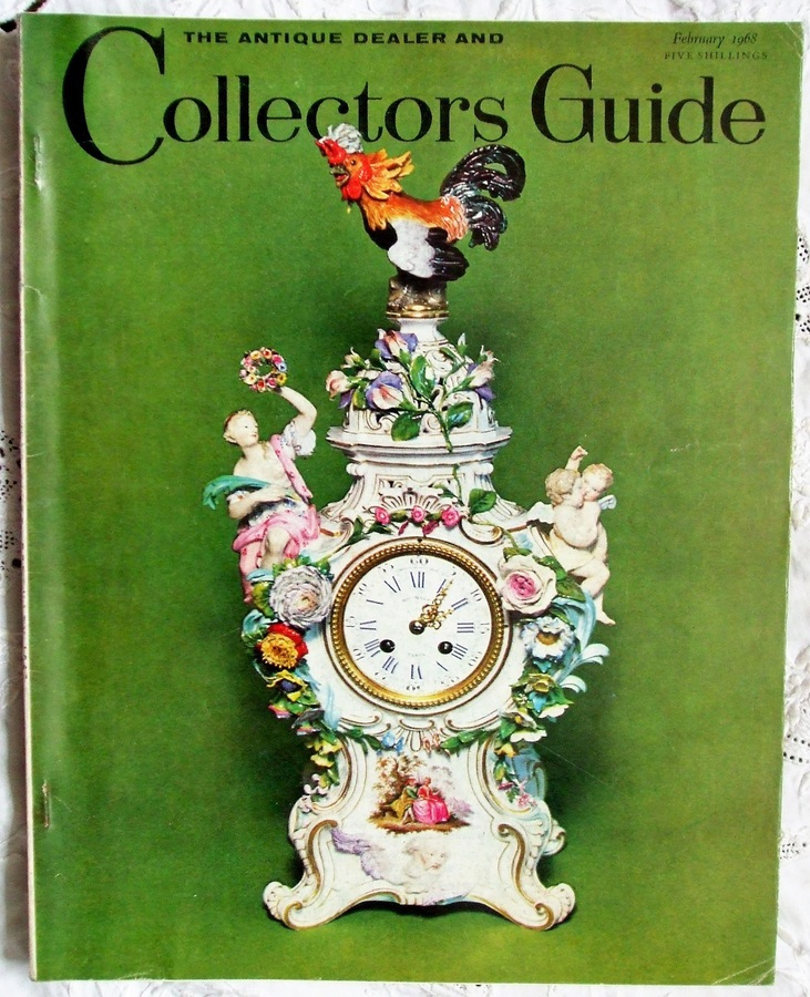 Antique The Antique Dealer and Collectors Guide ~ Vol. 22 ~ No. 7 ~ February 1968