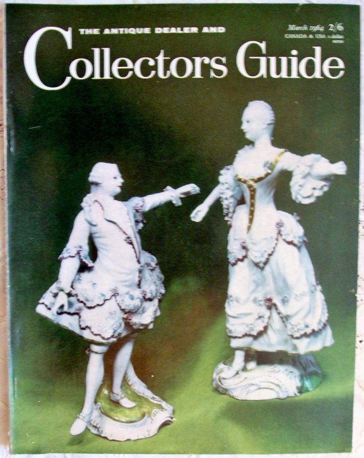 Antique The Antique Dealer and Collectors Guide ~ Vol. 18 ~ No. 8 ~ March 1964
