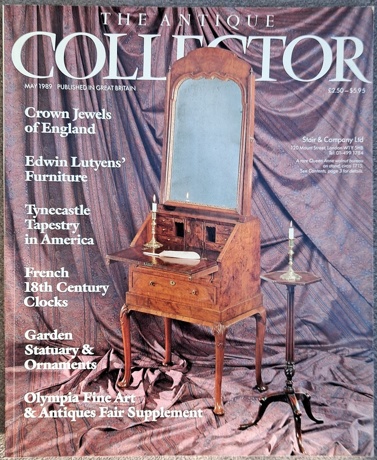 Antique The Antique Collector ~ Vol. 60 ~ No. 5 ~ May 1989