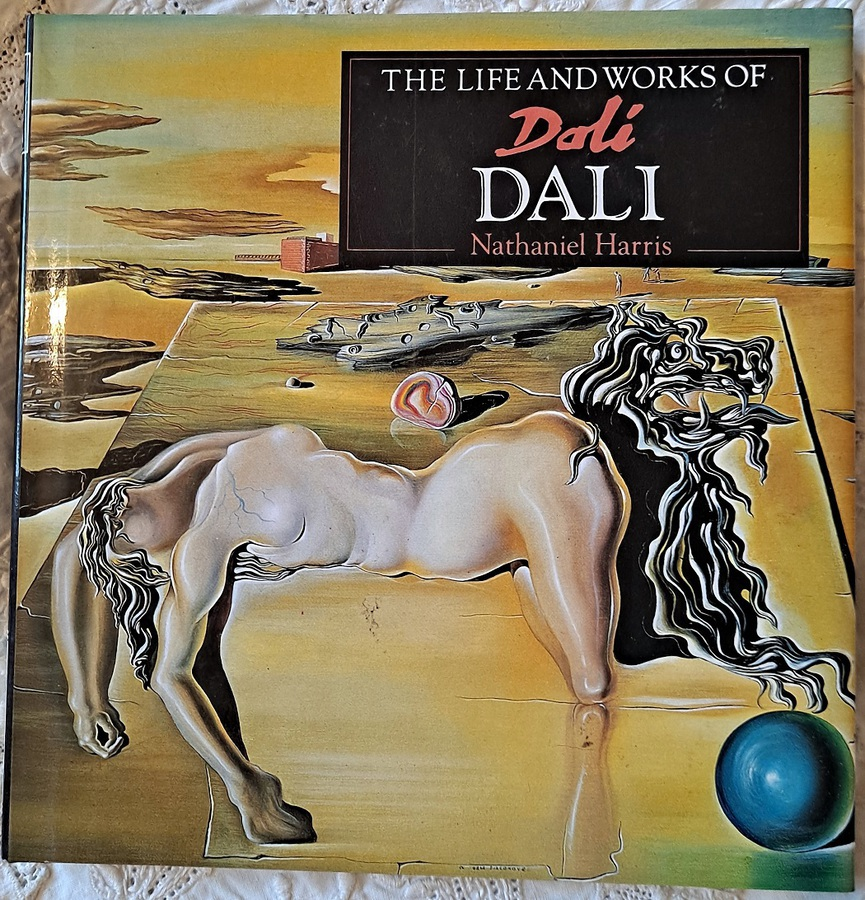 Antique The Life and Works of Dali ~ Nathaniel Harris