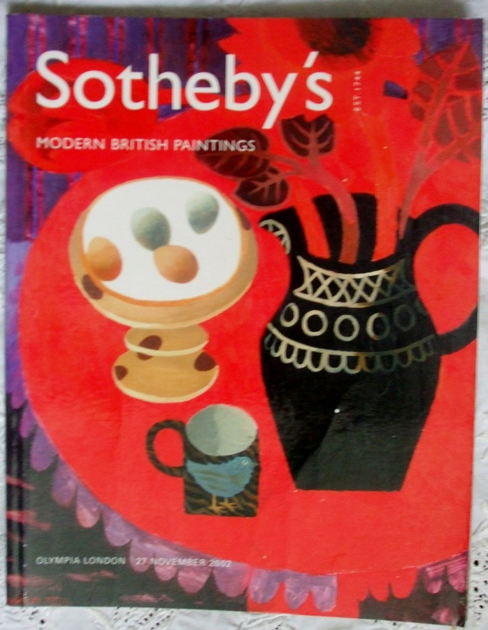 Antique Sotheby's Olympia ~ Modern British Paintings ~ London ~ 27. 11. 2002