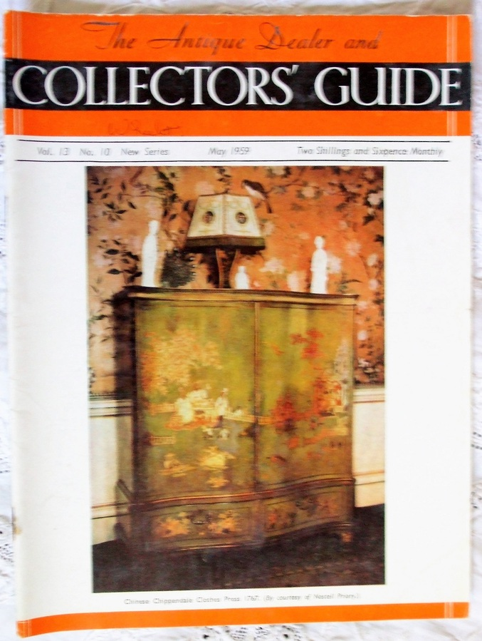 Antique The Antique Dealer and Collectors Guide ~ Vol. 13 ~ No. 10 ~ May 1959