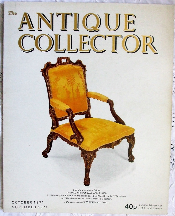 Antique The Antique Collector ~ Vol. 42 ~ No. 5 ~ October - November 1971