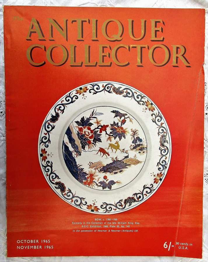Antique The Antique Collector ~ Vol. 36 ~ No. 5 ~ October - November 1965