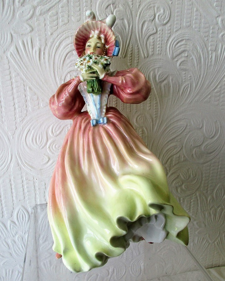 Antique Vintage Royal Doulton English Porcelain Figurine ~