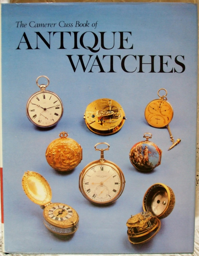 Antique The Camerer Cuss Book of Antique Watches ~ T.P. Camerer Cuss
