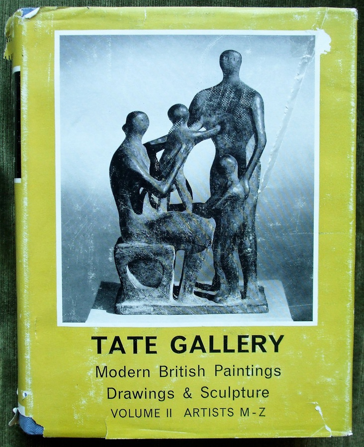 Antique Tate Gallery ~ Modern British Paintings, Drawings & Sculpture ~ Volume II ~ Artists M - Z