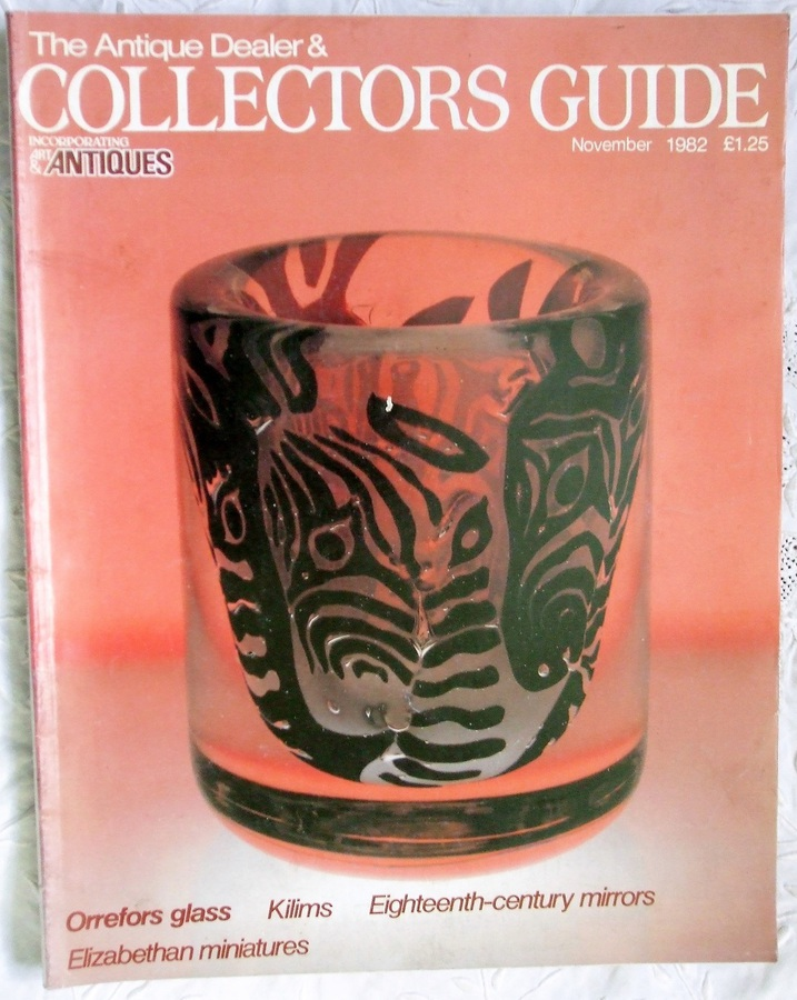 Antique The Antique Dealer and Collectors Guide ~ November 1982