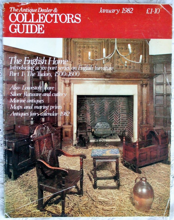 Antique The Antique Dealer and Collectors Guide ~ January 1982