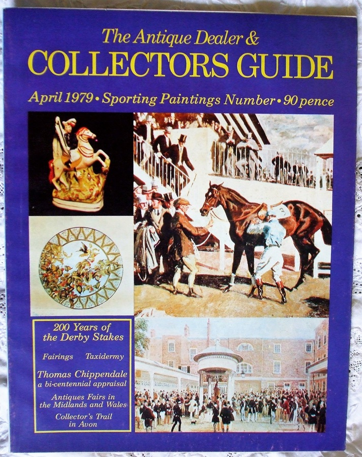 Antique The Antique Dealer and Collectors Guide ~ April 1979