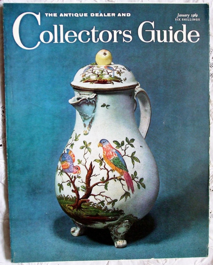 Antique The Antique Dealer and Collectors Guide ~ Vol. 23 ~ No. 6 ~ January 1969