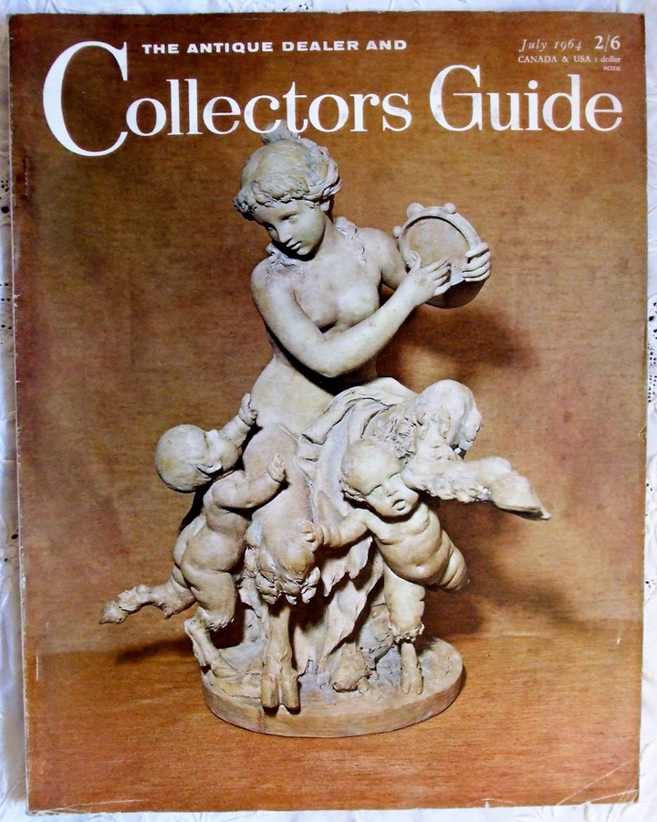 Antique The Antique Dealer and Collectors Guide ~ Vol. 18 ~ No. 12 ~ July 1964