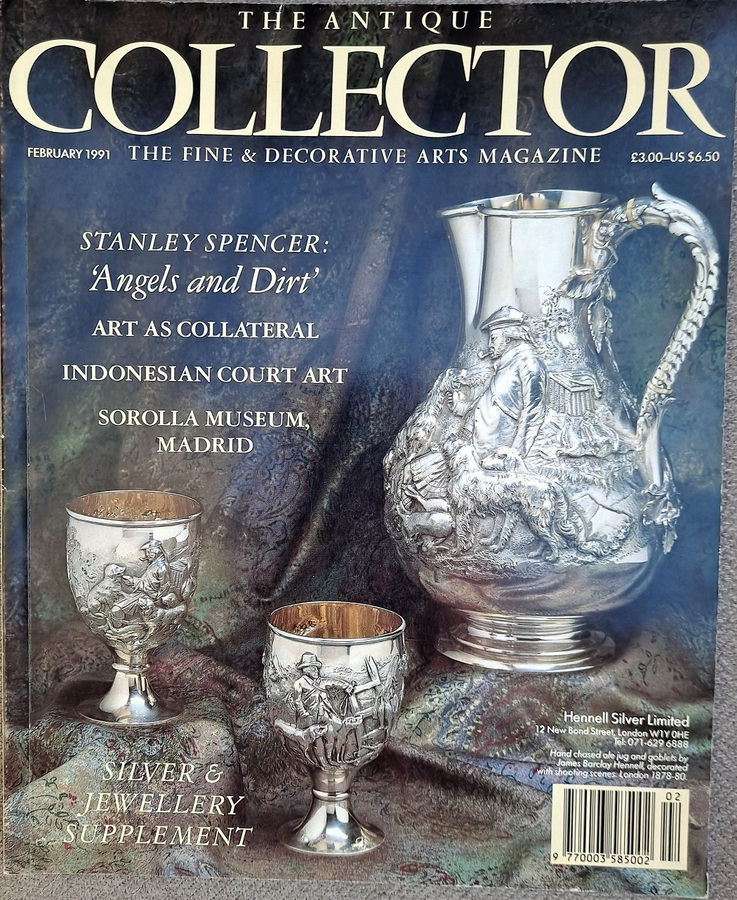 Antique The Antique Collector ~ Vol. 62 ~ No. 2 ~ February 1991