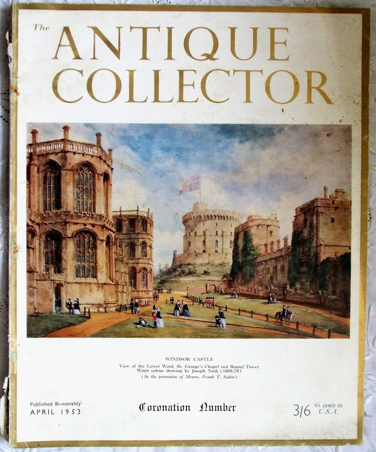 Antique The Antique Collector ~ Vol. 24 ~ No. 2 ~ April 1953