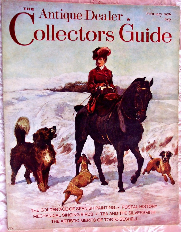 Antique The Antique Dealer and Collectors Guide ~ February 1976
