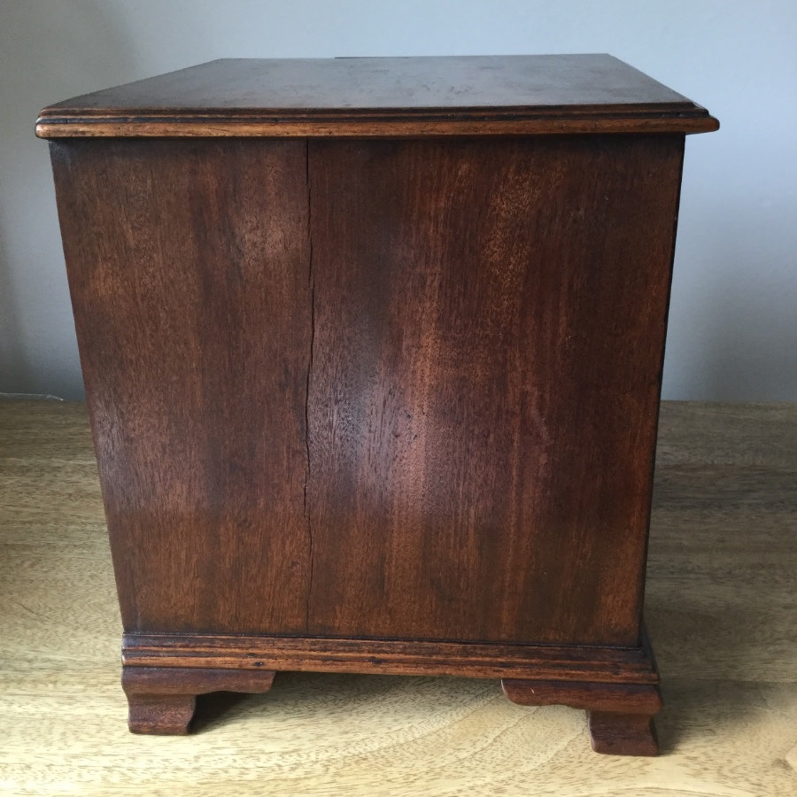 Antique Victorian Miniature Chest Of Drawers
