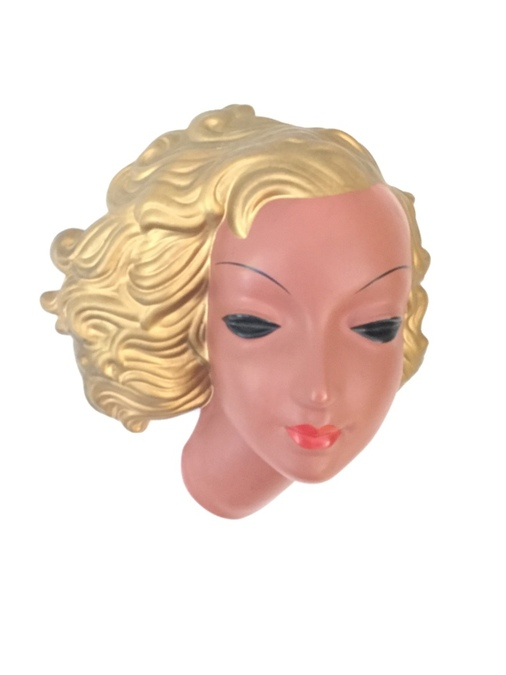 Art Deco Terracotta Wall Facemask