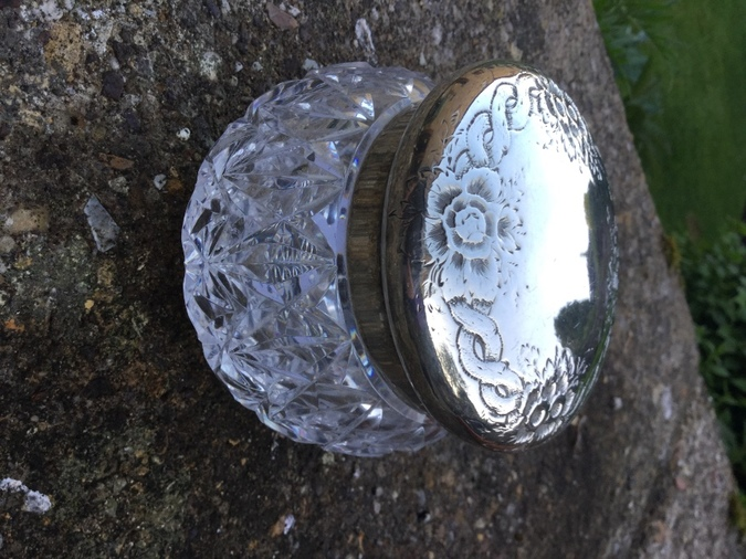 Silver Top Jar London 1893/4