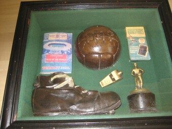 DIORAMA CELEBRATING 100 YEARS FOOTBALL ASSOCIATION 1863 TO 1963